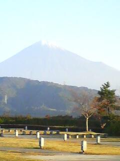 わー!富士山だぁぁぁ♪